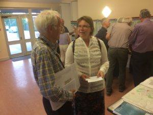 Ian and Sarah at the Local Plan Consultation